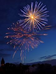 Fireworks (Edited) (Drriss & Marrionn) Tags: sky photoshop europe colours belgium fireworks processing editing erembodegem anawesomeshot vpu1 vigilantphotographersunite