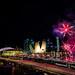 NDP NE3 Rehearsal fireworks