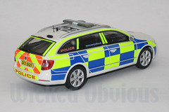 1/43 PSNI Skoda Superb Station Patrol (wicked_obvious) Tags: model sticker decal transfer diecast code3
