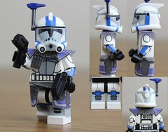 Custom LEGO Arc Trooper Havoc (Clone Wars) (JPO97Studios) Tags: trooper season star lego arc troopers wars clone decals havoc mmcb jpocustoms jpostudios jpo97studios