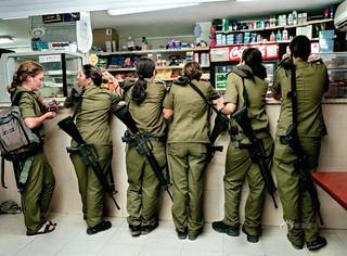 【组图】Rachel Papo:以色列女兵