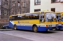1620 19880421 Midland A504 PST (CWG43) Tags: uk bus tiger leyland duple highlandomnibuses scottishcitylink midlandbluebird midlandscottish a504pst mpt134