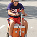 """Getting around on game day can be challenging; this fan found a cool solution. • <a style=""""font-size:0.8em;"""" href=""""http://www.flickr.com/photos/49650603@N07/9772382623/"""" target=""""_blank"""">View on Flickr</a>"""