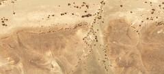 Mauritania Crescent Moons 13 (extramatic) Tags: moon sahara rock ancient horus mound googleearth formations rockformations hathor earthworks geoglyphs saharadesert geoglyph seax ancientearthworks