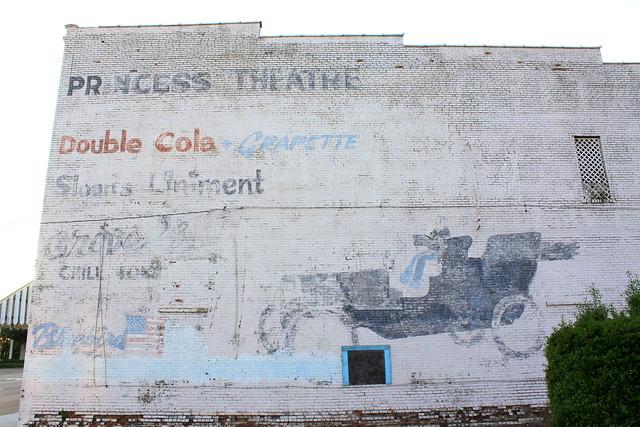 Faded Ad Mural - Lexington, TN