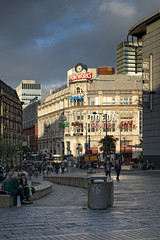Exchange Square (JEFF CARR IMAGES) Tags: cloudy cityscapes greatermanchester northwestengland cloudybright