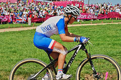 Pauline FERRAND PREVOT (FRA) (Andy-Sharp) Tags: mountain france london bike bicycle cycling concentration women focus energy power mountainbike competition games crosscountry attitude finals cycle strength olympic olympics athlete hadleigh 2012 courage olympicgames london2012 stamina mountainbikecrosscountry hadleighfarm paulineferrandprevot womenmountainbike