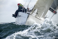 GBR 42N . La Reponse (Barry James Wilson) Tags: isleofwight yachtracing thesolent roundtheislandyachtrace gbr42nlareponse