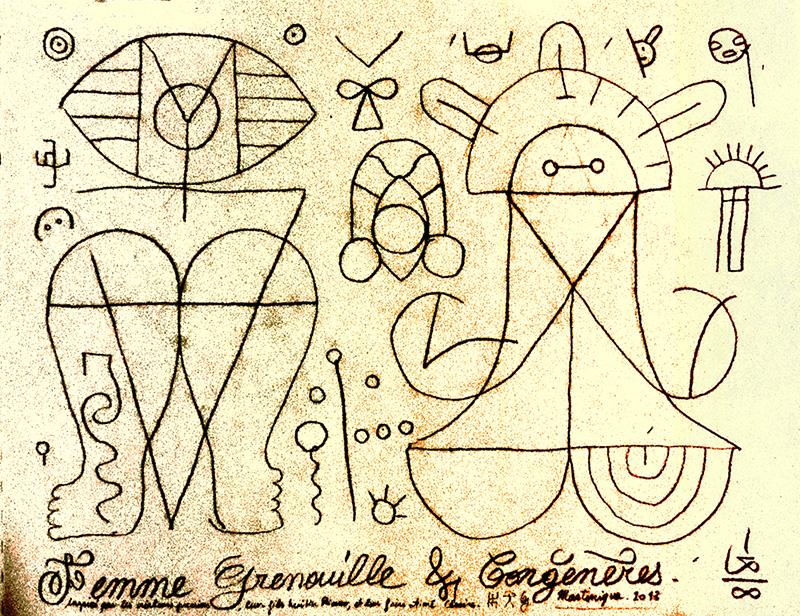 FEMME GRENOUILLE & CONGÉNÈRES