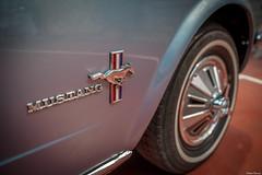 Ford Mustang. (Jrme Cousin) Tags: auto classic ford luz car saint vintage de nikon automobile jean voiture collection 28 mustang bourse tamron 2470 d700 worldcars dchange