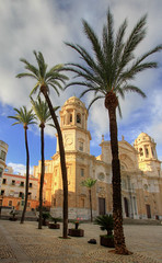 Cadiz Cathedral - Spain (L.Clark Photography) Tags: church spain cathedral cadiz andalusia hdr cadizcathedral