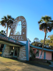 Skylark Motel (3 of 3) (jimsawthat) Tags: architecture palms florida perry smalltown motels vintagesigns homemadesigns vintagemotels lettersonanarc