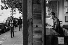 a window (SungsooLee.com) Tags: sanfrancisco california street leica portrait people blackandwhite bw window 50mm blackwhite candid streetphotography apo summicron asph f20 mydays mmonochrom mydaystravel mydaysphoto