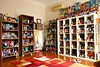 finally there ! (girl enchanted) Tags: ikea vintage toys dolls bookshelf disney collection barbies simba mattel collectibles treasures toyroom expedit 80stoys dollyroom