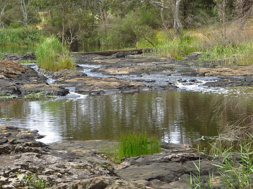 Hamilton -Wannon River just above the falls