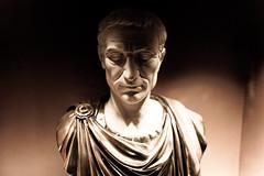MONDAY IS A DICTATOR (espressoDOM) Tags: shadow sculpture roman caesar bust atlanticcity monday ac caseofthemondays mondayssuck