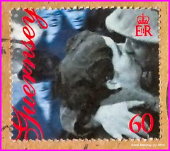 A Guernsey 60p postage stamp celebrating the anniversary of the end of WW2 by Anne MacKay 21 January 2014 (Anne MacKay images of interest & wonder) Tags: by anne 21 anniversary january stamp end ww2 mackay postage guernsey celebrating 2014 60p photobyannemackay