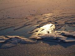 Ice, 3 (Axiraa - back very soon) Tags: winter sunset lake snow cold ice water lago see frozen meer frost estonia baltics estland viro estonie   saadjrv tartumaa o