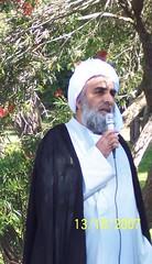 Sheikh at Eid Prayer