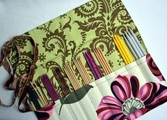 Needle Case (KeTreKo) Tags: handmade sewing sew case needle needlecase amybutler nigella dpn etui nhen stricknadeln