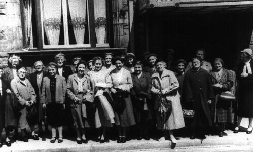 Womans Guild day out 1950s