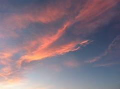 Bonne soirée (karine_avec_1_k) Tags: red sky cloud rouge ciel nuage uploaded:by=flickrmobile flickriosapp:filter=nofilter