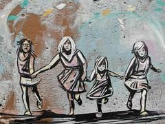 Alice Pasquini (seven_resist) Tags: girls urban italy streetart rome art girl wall graffiti stencil mural grafitti chica grafiti alice murals chicas graff rom grafity grafitty grrrl pasquini