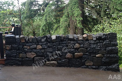 WM AA8, Alan Ash, Free standing wall, dry laid stone construction, copyright 2014