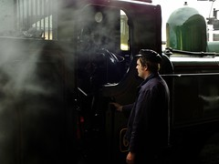 Swirling steam (Martin Creese) Tags: severnvalleyrailway 6435 30742charters w238w
