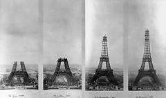 Хронология строительства Эйфелевой башни, 1888–1889 годы