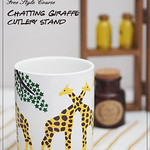 "Giraffe Cutlery Stand <a style=""margin-left:10px; font-size:0.8em;"" href=""http://www.flickr.com/photos/94066595@N05/13690735474/"" target=""_blank"">@flickr</a>"