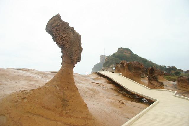 北海岸自然公園と九分(台北発のオプショナルツアー)