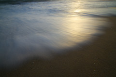 Light Wave (sampost) Tags: ocean california light abstract texture beach sand wave waveporn 4mile