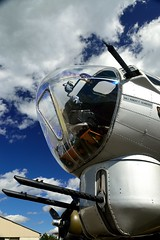 Bombardier (patentboy) Tags: columbus ohio b17 worldwarii eaa aluminumovercast wwiiaircraft donscottfield