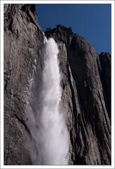 Upper Yosemite Falls (bfweasgg) Tags: california spring nikon sierranevada 50mmf14 d600