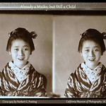 A VERY YOUNG MAIKO BY WINDOW LIGHT -- An Original Stereo Proof-Print in the CMP thumbnail