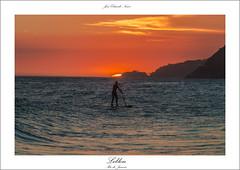 Praia do Leblon,Rio de Janeiro (José Eduardo Nucci Photography) Tags: sunset nature brasil riodejaneiro landscape nikon paisagem pôrdosol 28300mm leblon d800 standuppaddle brasilemimagens