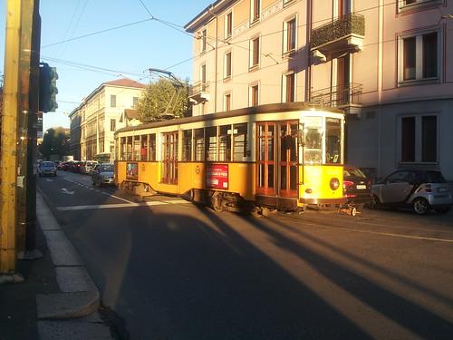 Tramway dans Milan