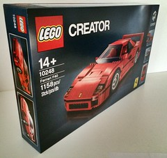 Yes!!! (marioanders) Tags: auto car set lego ferrari creator modell f40 2015 10248