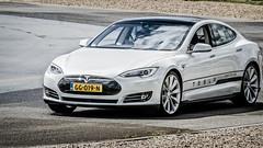Tesla Model S (Stephen Reed) Tags: car electric nikon surrey brooklands d7000