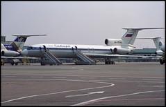 RA-85485 - Moscow Vnukovo (VKO) 19.08.2001 (Jakob_DK) Tags: 2001 vko uuww vnukovo moscowvnukovo tupolev tupolev154 tupolev154b tupolev154b2 tu154 tu154b tu154b2 careless s7 sbi sibir sibirairlines s7airlines