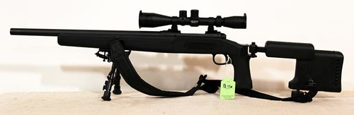 Savage Model 10, .308 caliber Bolt Action Rifle with  Leupold Mid-Range Scope, Folding Stock & Flip Down Bipods ($672.00)