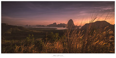 Always (Khun Jeremy) Tags: red sony ilce7rm2 phangnga thailand sel2470gm dawn sunrise island landscape