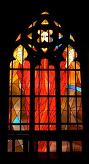 St. Jacob's and St. Agnes' Church window (Michael Tracy's photos) Tags: poland nyas