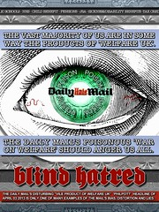 Blind Hatred (Byzantine_K) Tags: gay food news eye work poster uncut newspaper media europe propaganda lies political politics poor working protest eu demonstration cameron engraving disabled labour government poison press fascism sick scandal racism liberal unemployed cuts journalism dwp osborne tory discrimination homophobia welfare ids tories farage atos liberaldemocrats dailymail clegg jobcentre ukip xenophobia miliband occupy iainduncansmith