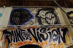 Art work (Don McCullough) Tags: streetart color art canon graffiti sonoma warehouse vision santarosa outoforderexhibit
