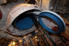 Another hatch leading to the surface (Marcus Wong from Geelong) Tags: russia submarine saintpetersburg  sovietnavy sovietsubmarines189 project613b