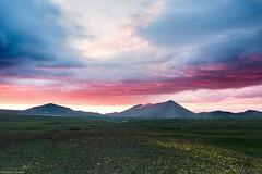 Campo imperatore Sunrise (Corsaro078) Tags: mountain clouds sunrise landscape nuvole alba montagna paesaggio gransasso campoimperatore