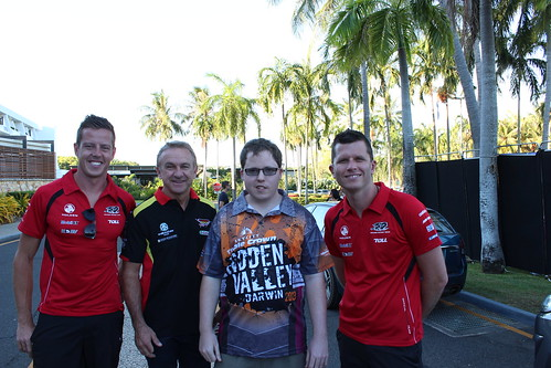 2013 V8 Supercars - Hidden Valley - With James Courtney,Russell Ingall & Garth Tander