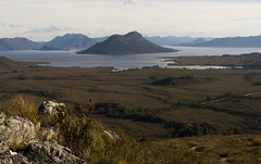 View of Lake Pedder